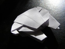 Origami Millenium Falcon | OrigamiYoda - photo#11