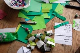 Origami Yoda valentines