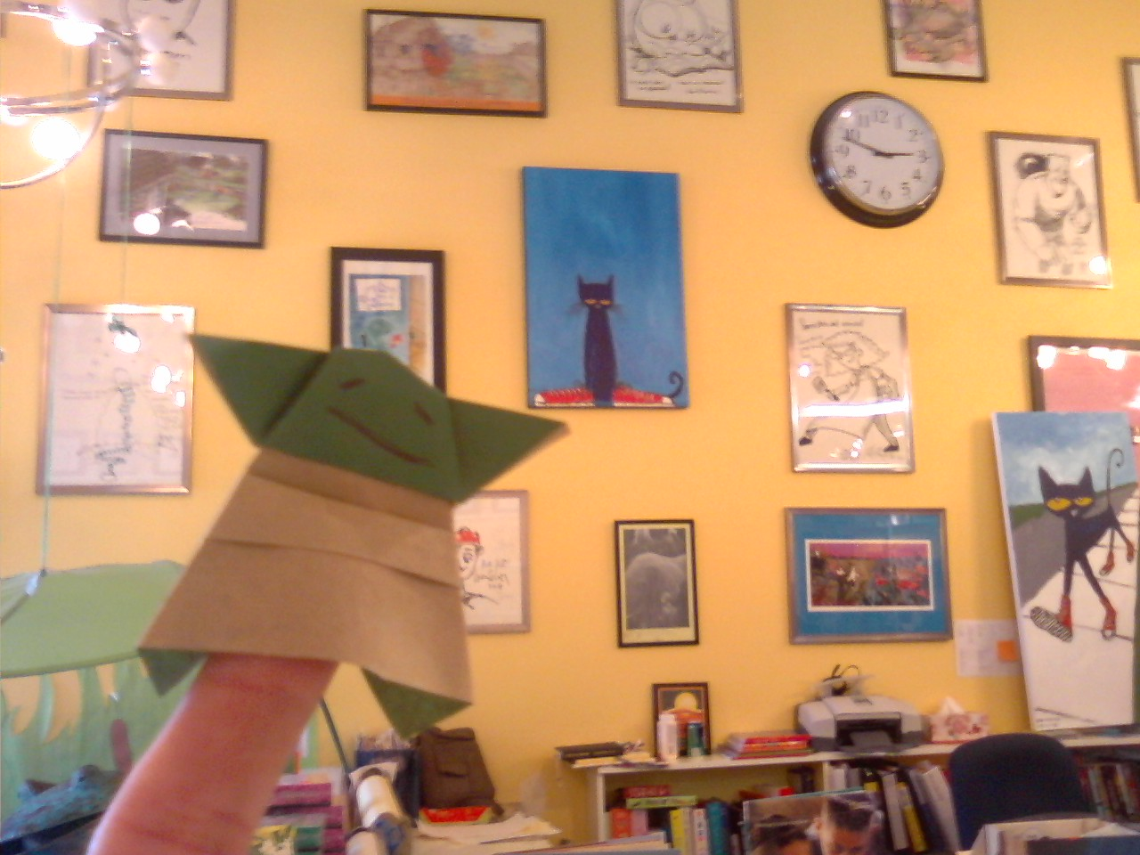{little blog of stories}: Were you here for Origami Yoda? - photo#41