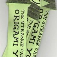 "Origami ""Origami Yoda"" bookmarks"