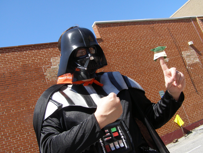 Peacework's book walk brings Vader & Origami Yoda together ... - photo#44