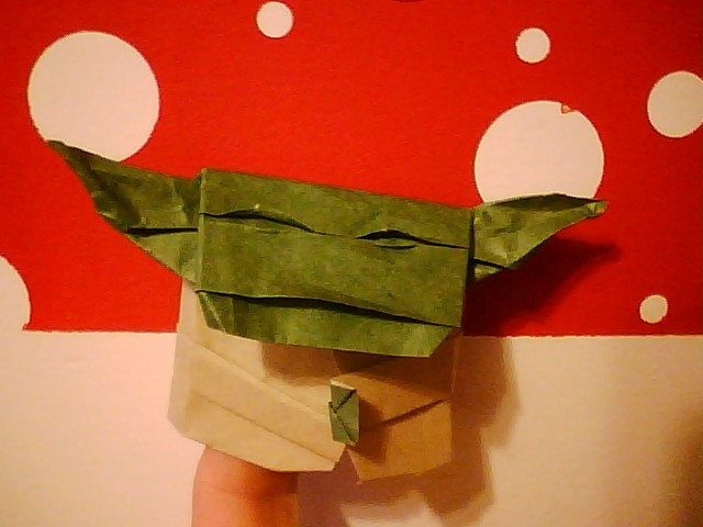 how to make the real origami yoda