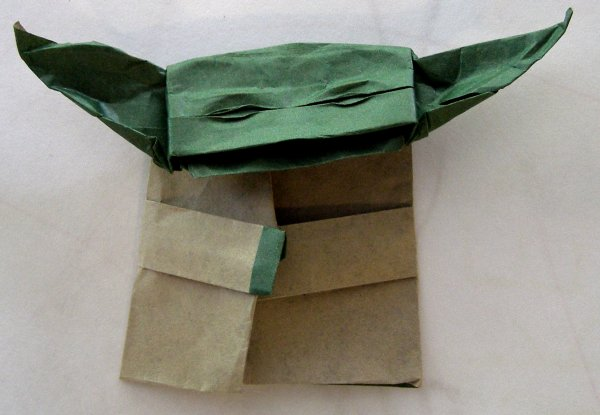 Re Folding The Cover Origami Yoda