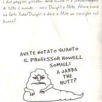A peek inside the Italian version of Origami Yoda (also McRib pic)