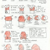 It's Origami Admiral Ackbar instructions!