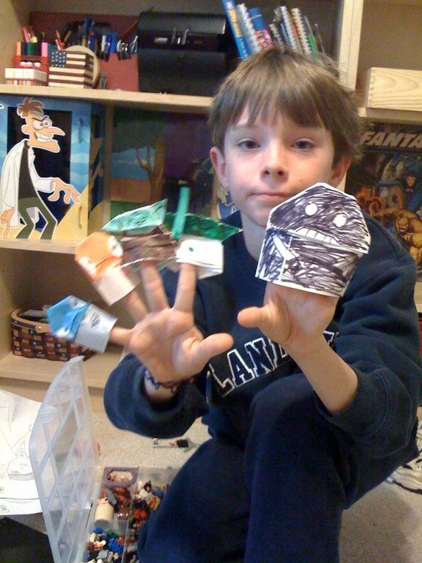 instructions to make origami darth vader