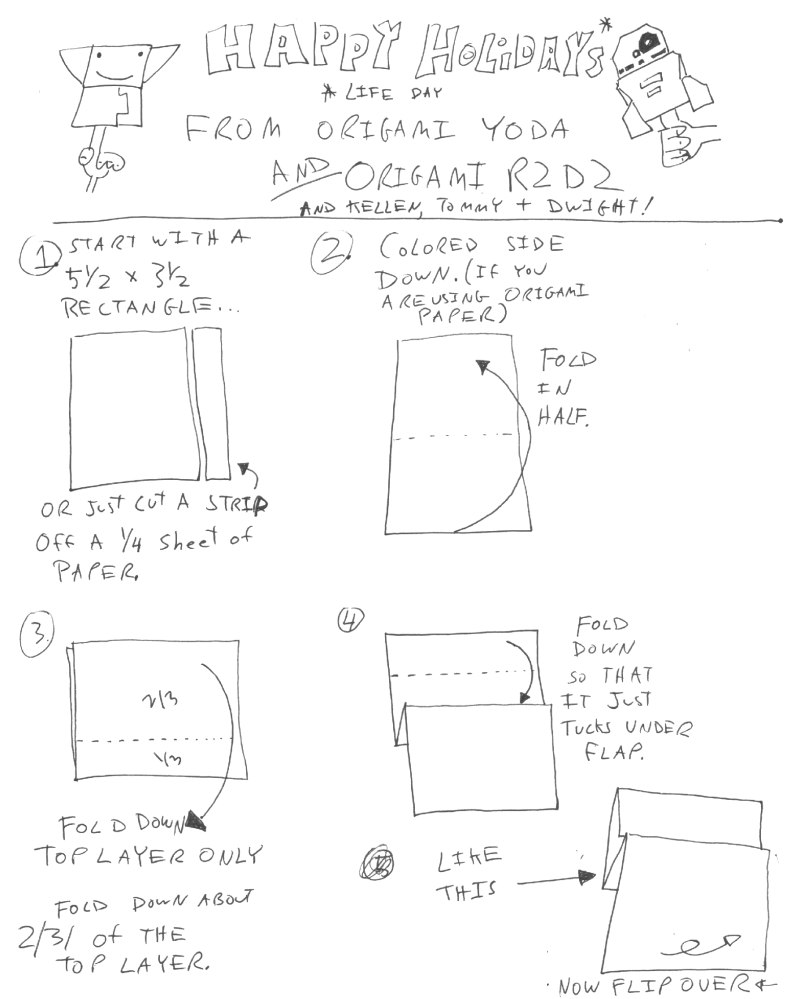 Star wars origami a list of online diagrams for folding your own characters creatures droids weapons jeuxipadfo Gallery