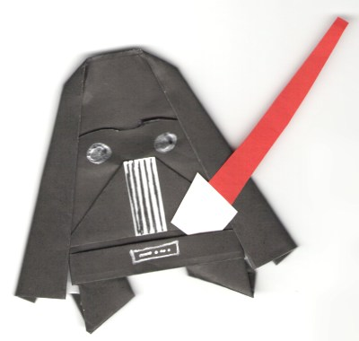 Folding your own Origami Yoda & other Star Wars papercraft (4/6)