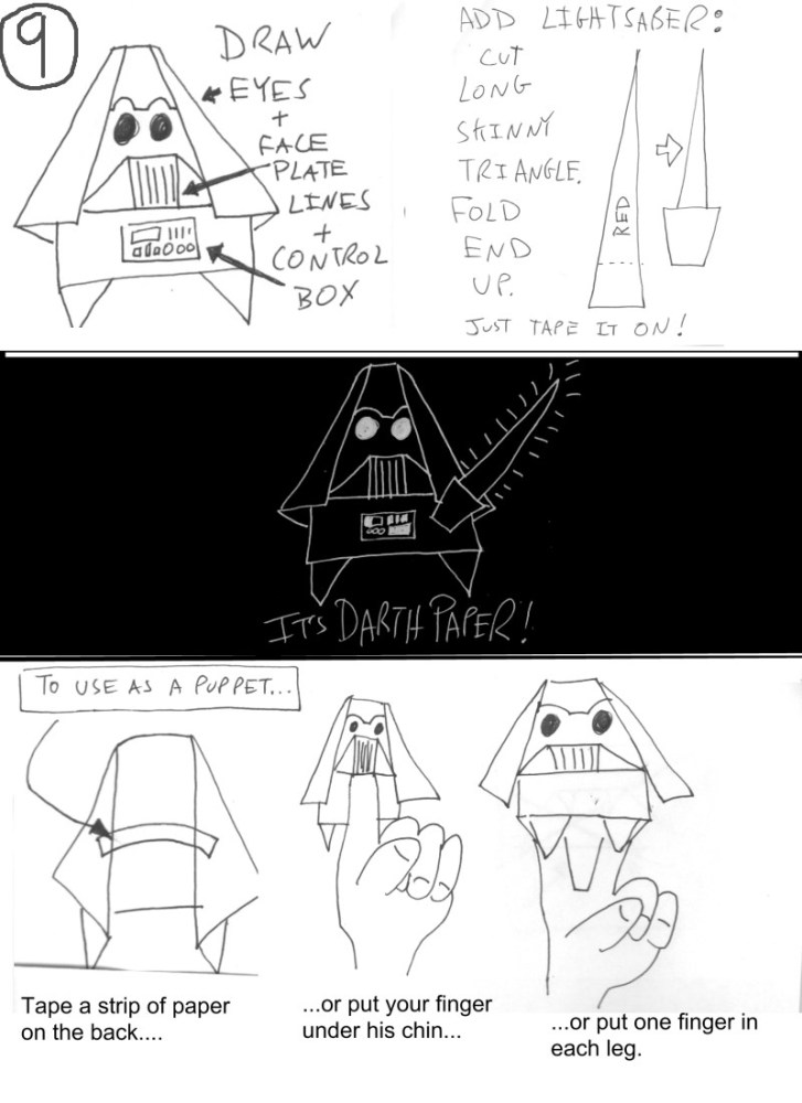 And the sequel is .... Darth Paper Strikes Back! (4/4)