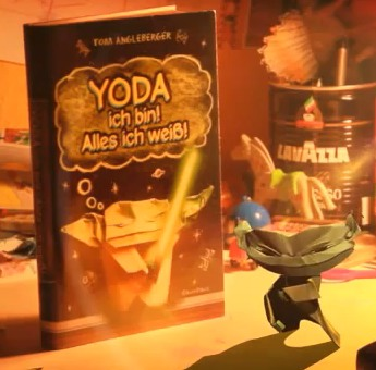 Its A Commercial For The German Edition Of Origami Yoda