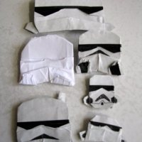 Origami Stormtroopers