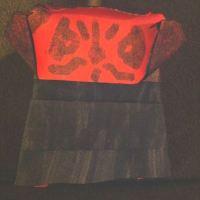 Super-Folder Derek's Origami Darth Maul... with instructions! #starwars #origami