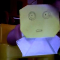 Super-Folder Derek makes Origami C3P0 ... with instructions!