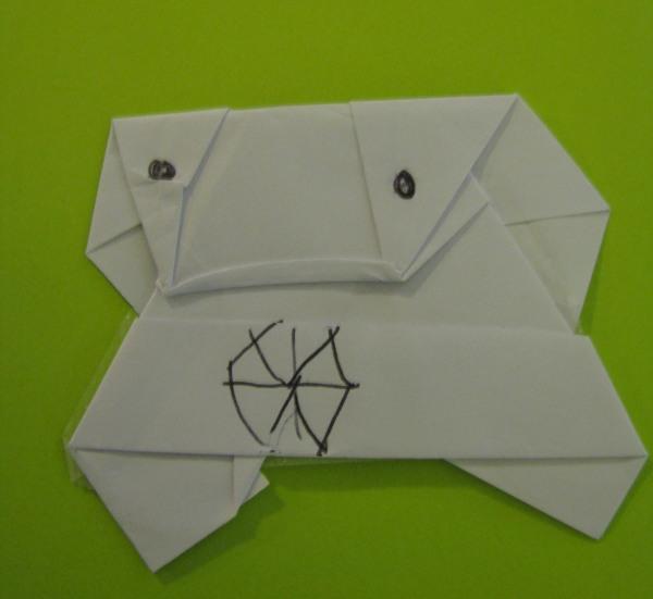 at last � the inevitable� origami jar jar binks by super