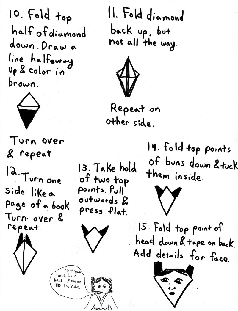 9 DIY Star Wars Orgiami | Star wars origami, Star wars diy ... | 1046x800