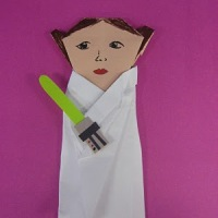 SuperFolder Jess's Origami Princess Leia instructions!