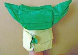 Very Wise deluxe Origami Yoda by Super-Folder Jordi