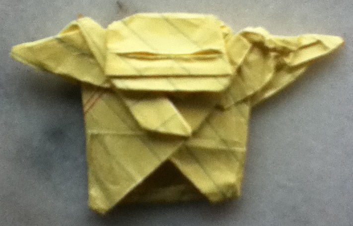 how to fold the real origami yoda 28 images real jabba