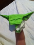 I love this Yoda by SuperFolder Braeden! It's really got personailty!