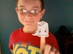 SuperFolder Colin is ready for the next Ice Age movie with this Origami Skrat!
