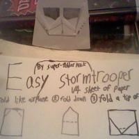 SuperFolder Nick's EZ Stormtrooper with instrux!