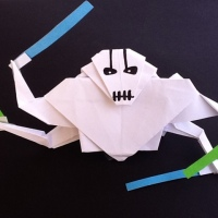 My new origami General Grievous...