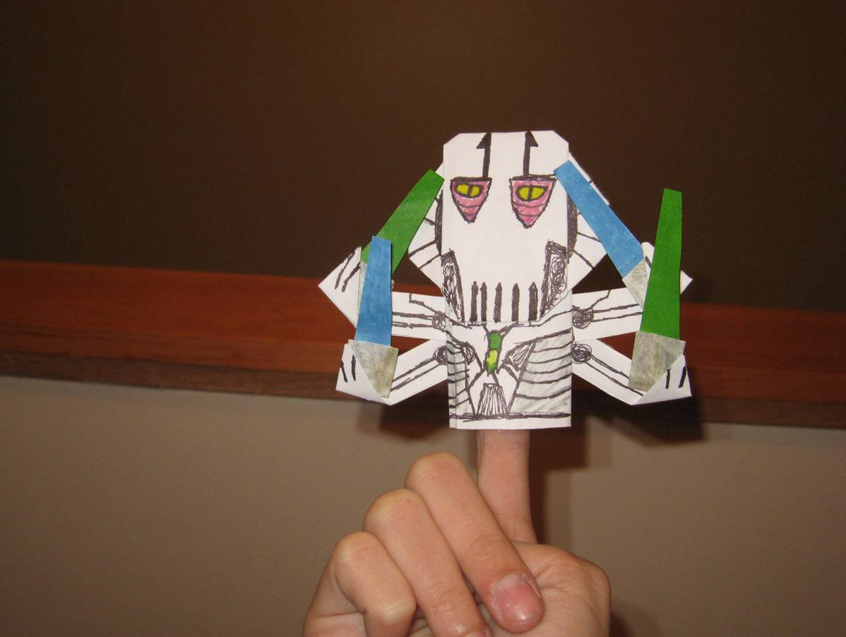 SuperFolder Bailey's General Grievous! (it's really here ... - photo#26
