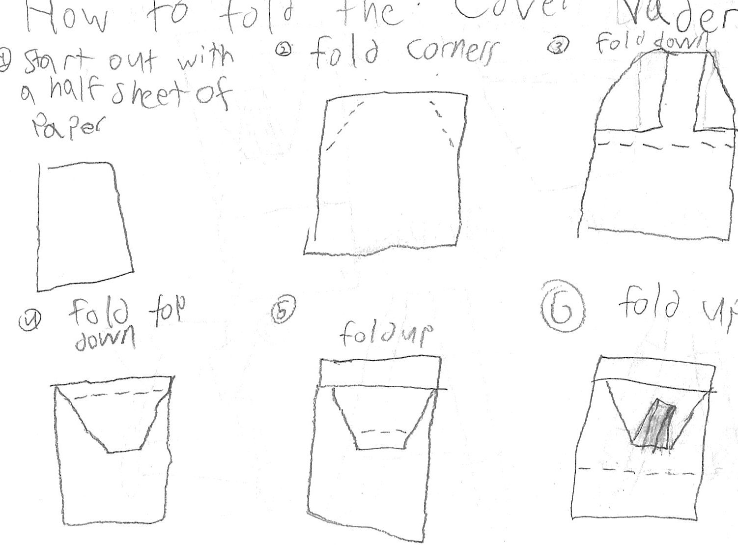 How To Make An Origami Darth Vader Instructions