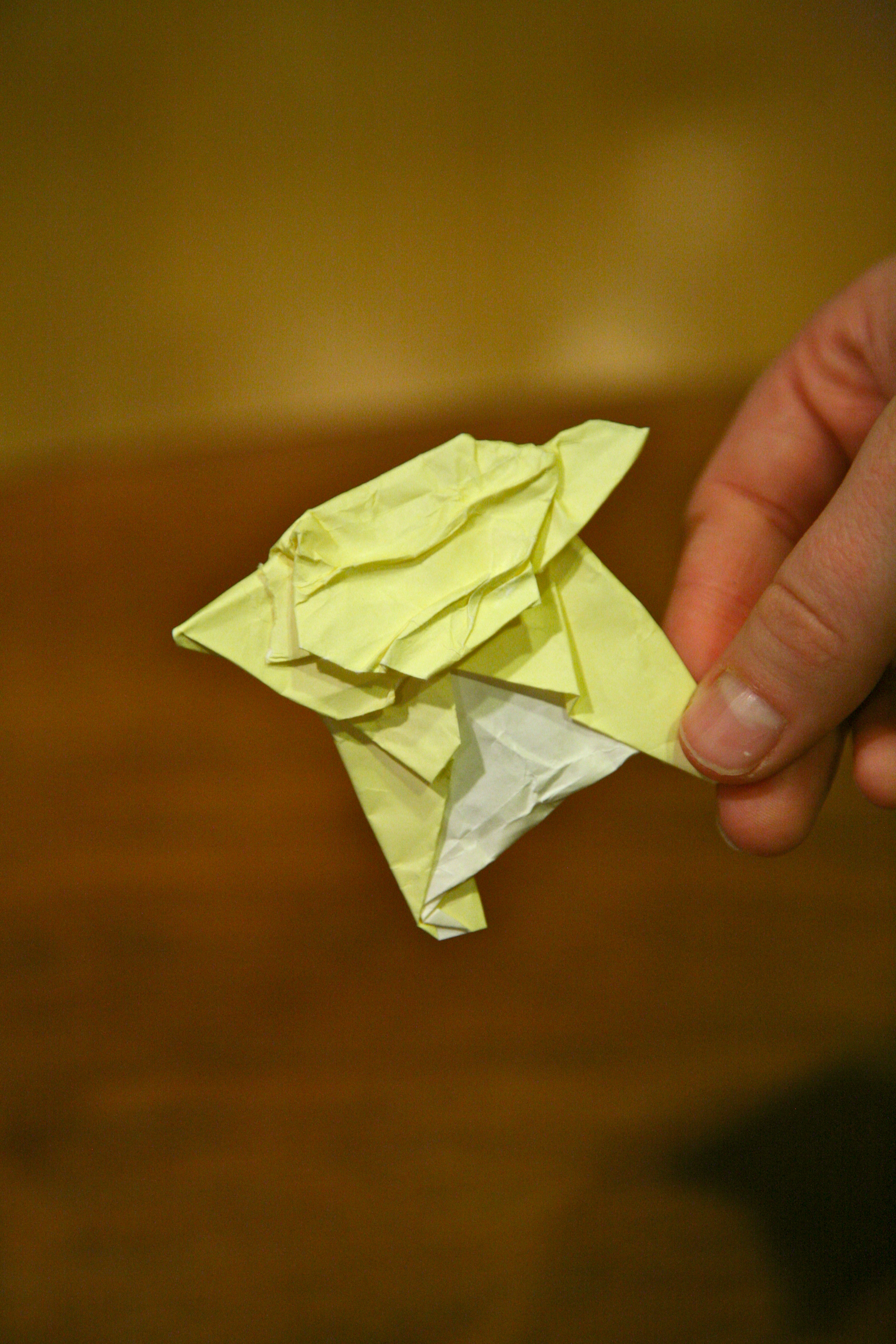 superfolder tedmeister7�s yoda origamiyoda
