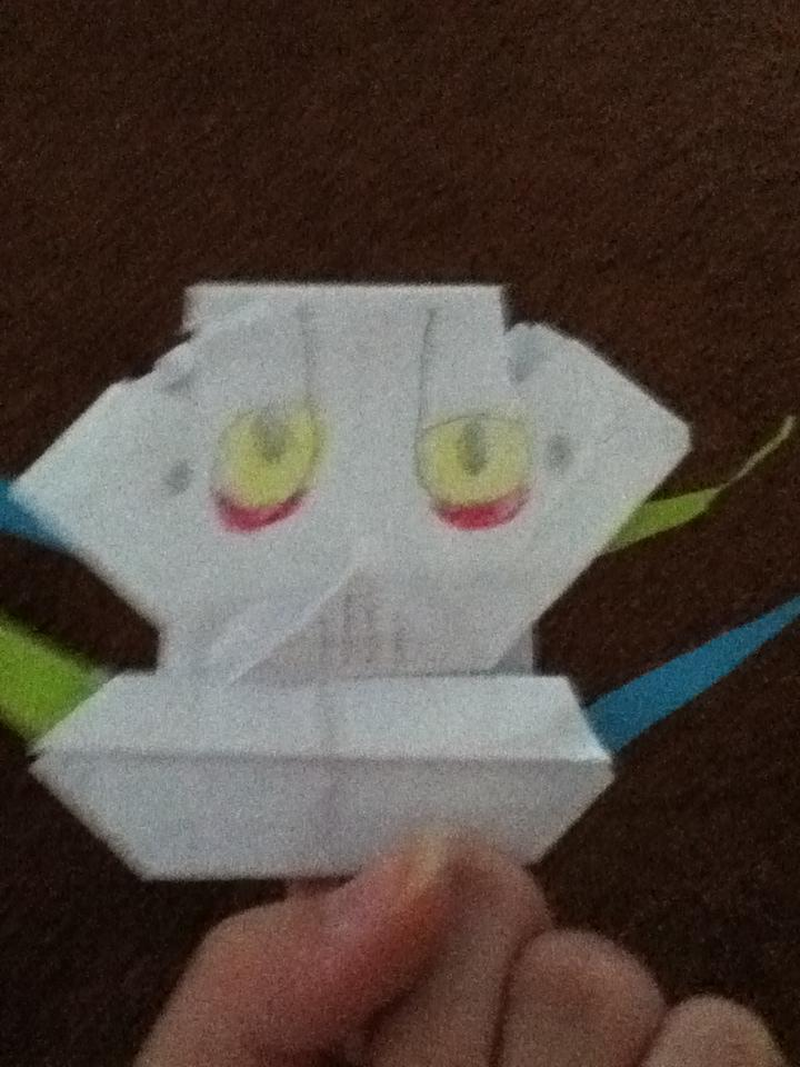 origami general grievous finger puppet instructions