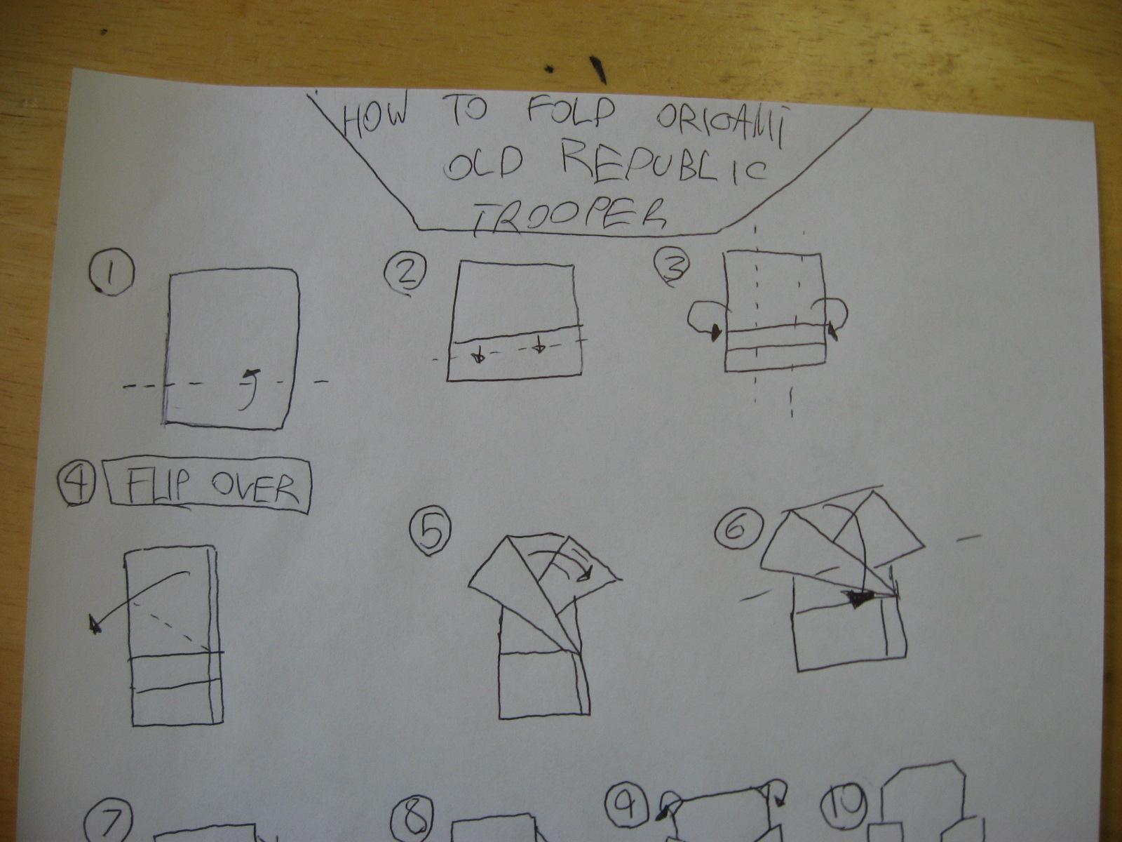 SuperFolder Gavin's Cover Yoda! With instrux!!, | OrigamiYoda - photo#31