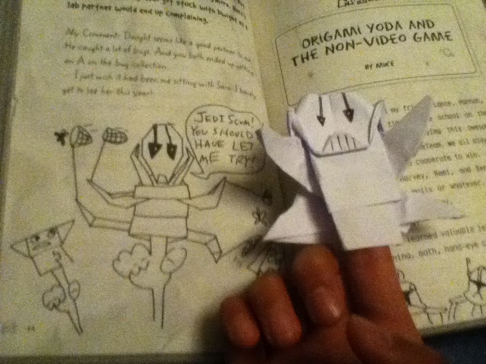 Origami Yoda General Grievous Instructions