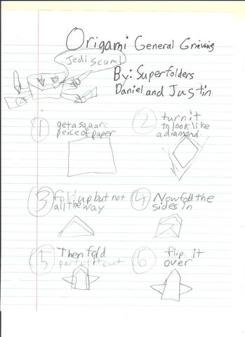 Superfolder Daniel And Justins General Grievous Instructions And