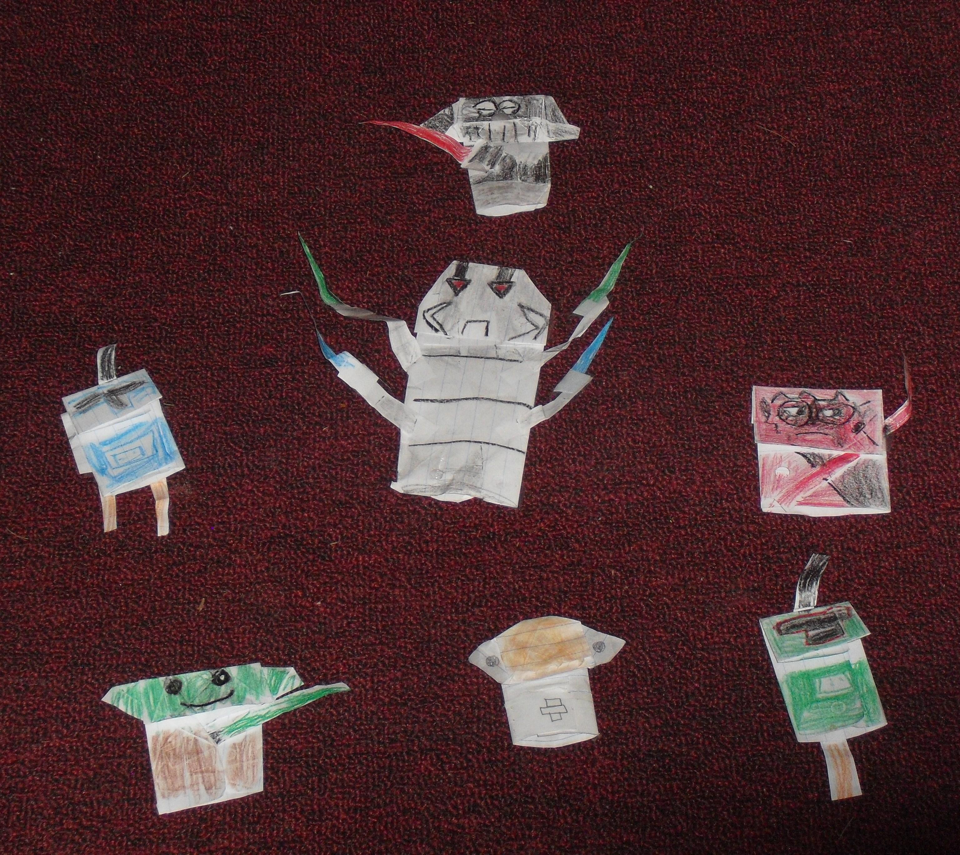SF XavierH's origami! | OrigamiYoda - photo#50