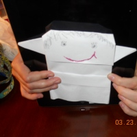 SF Becca's Origami Yaddle!