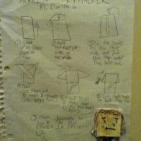 SuperFolder Dante's Instructions for Anakin Skywalker!