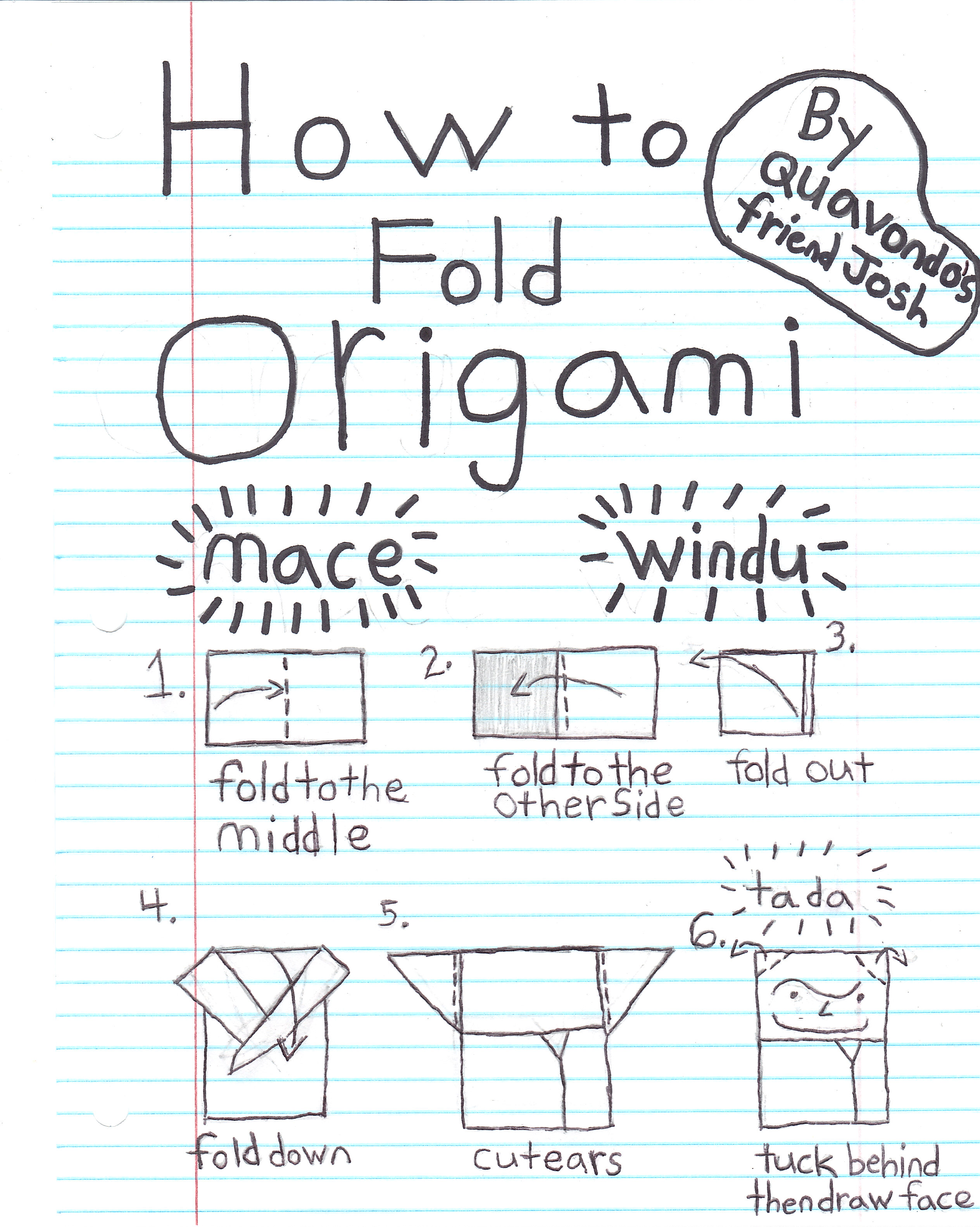 How To Make Origami Star Wars Ewok