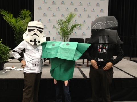Book Expo And The New Star Wars Origami Book Thats Not Mine
