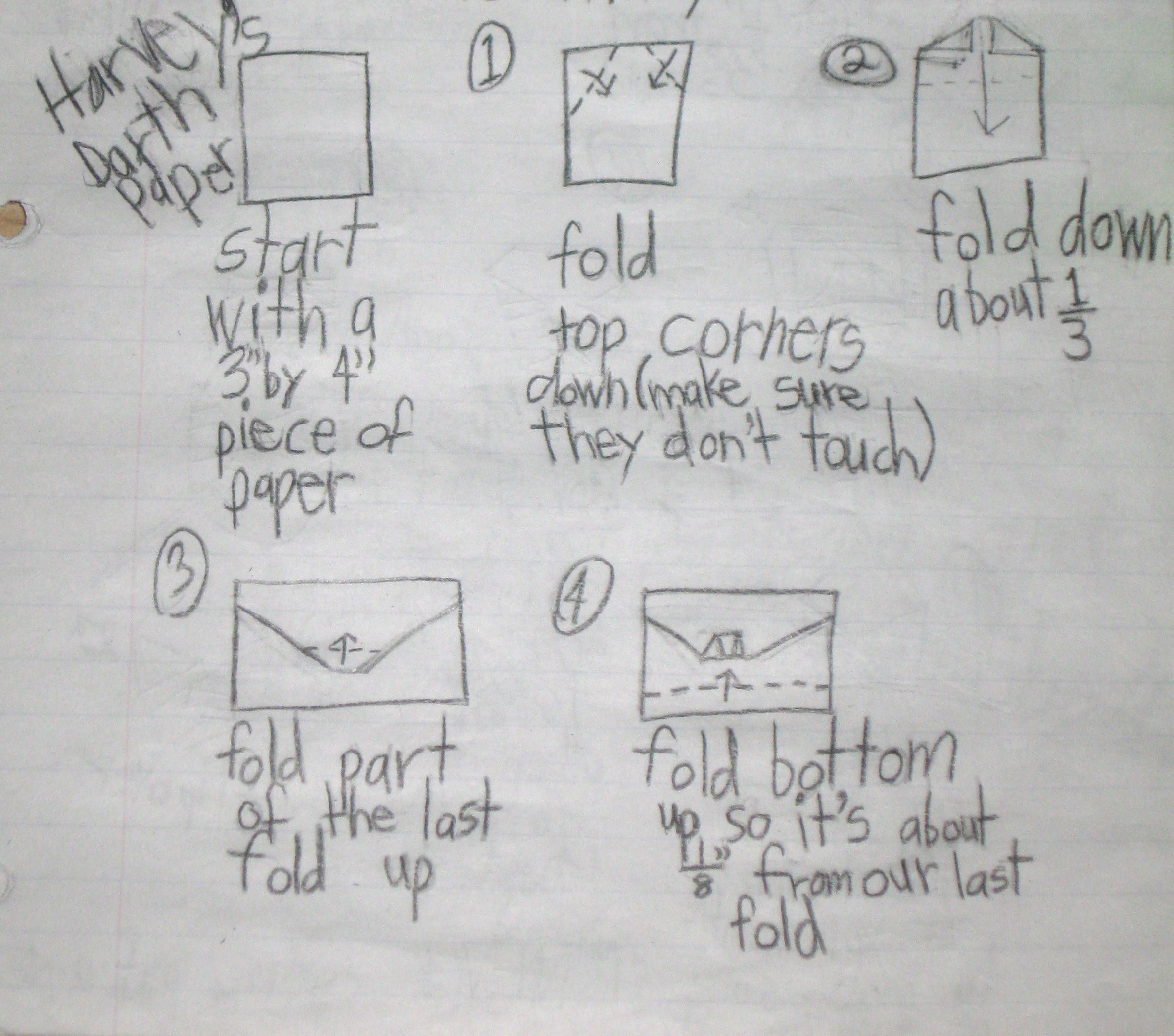 origami darth paper The first sequel, darth paper strikes back (isbn 9781419705175), takes place one year after the events of the strange case of origami yoda the book includes instructions for a simpler version of darth paper (whose designer is known as super-folder ben), as well a 5-fold version of origami yoda it is a dark time at ralph mcquarrie middle school.