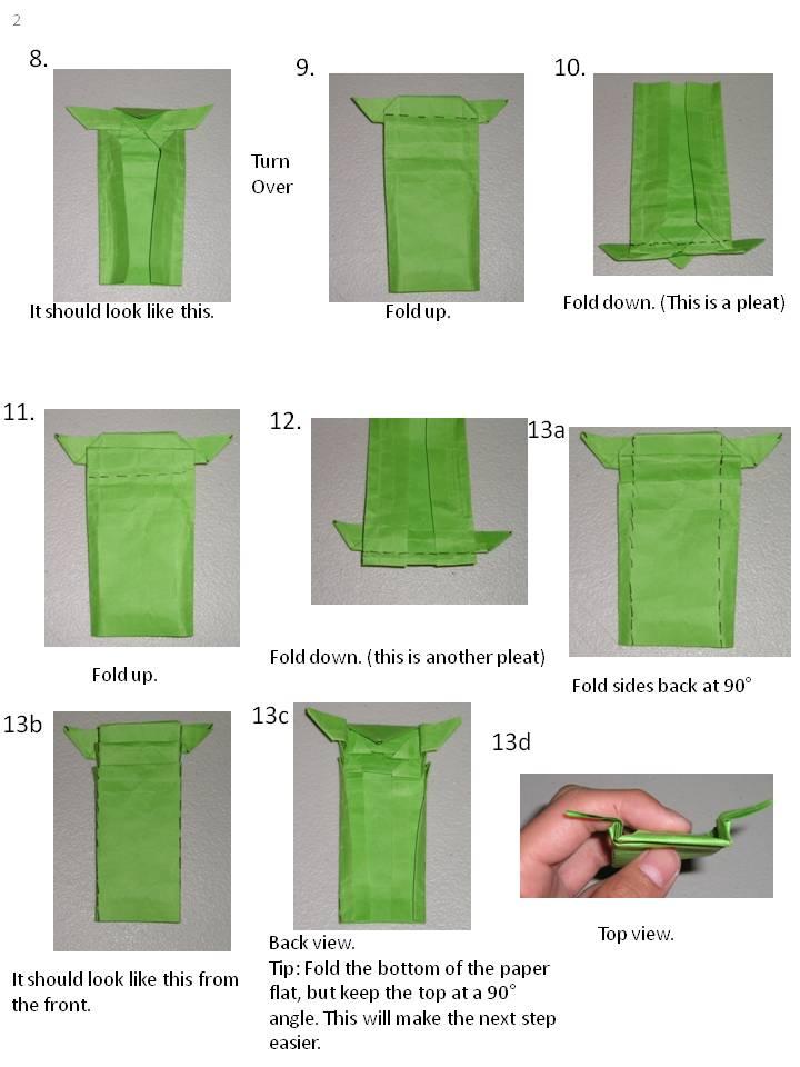 How to Fold | Origami Yoda | 960x720