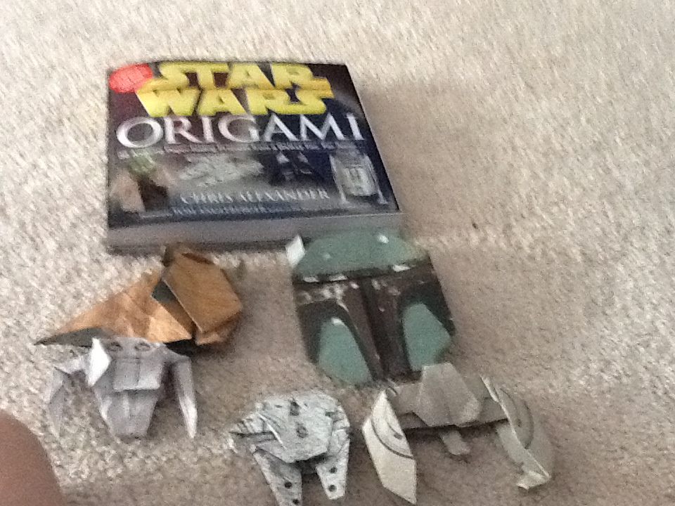 Sf Jacobps Cool Star Wars Origami From The Book Star Wars Origami