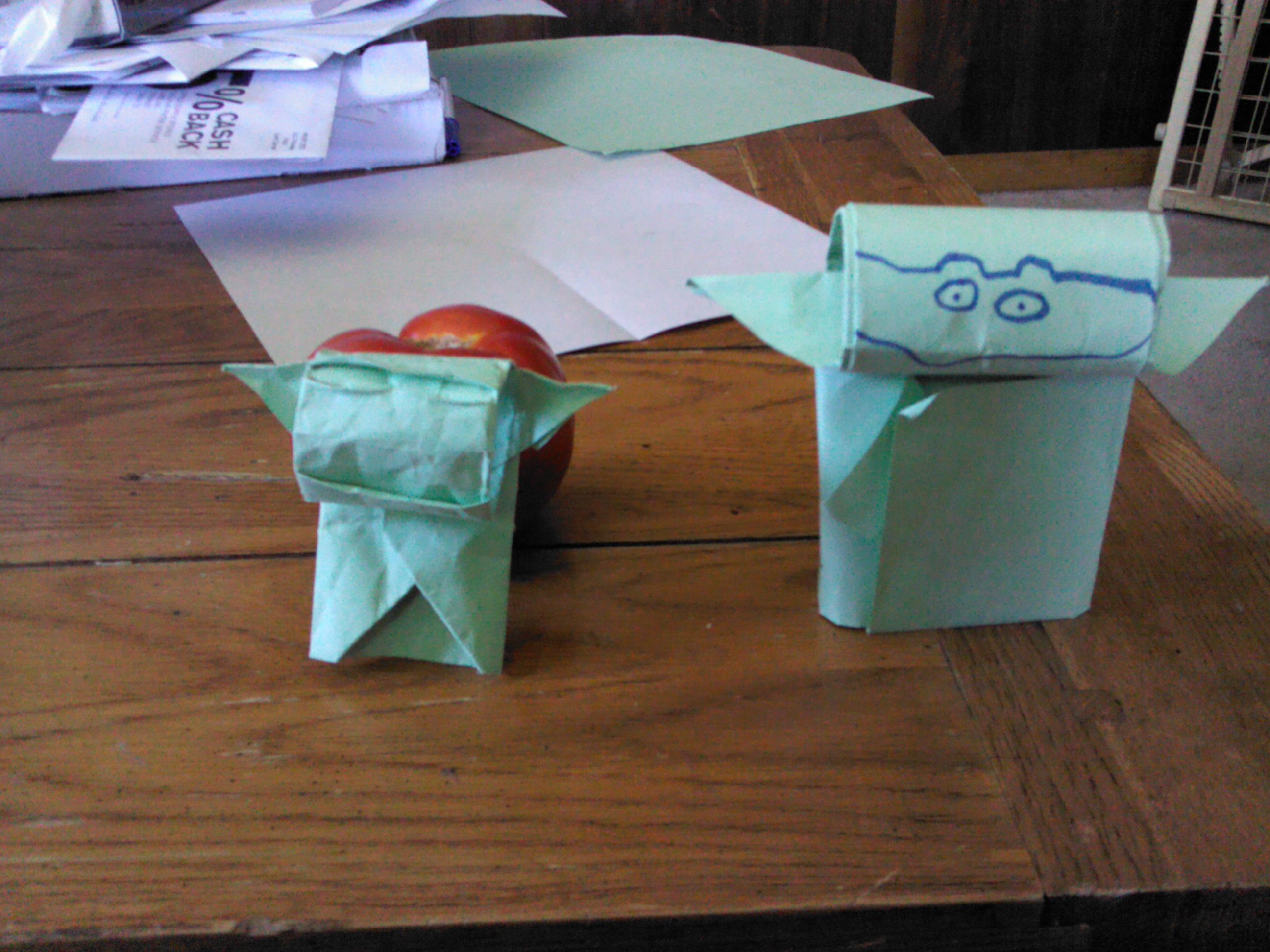 At last… the Van Jahnke Yoda! | OrigamiYoda - photo#13