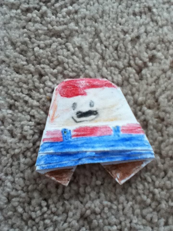 Sf Austins Origami Mario Origamiyoda