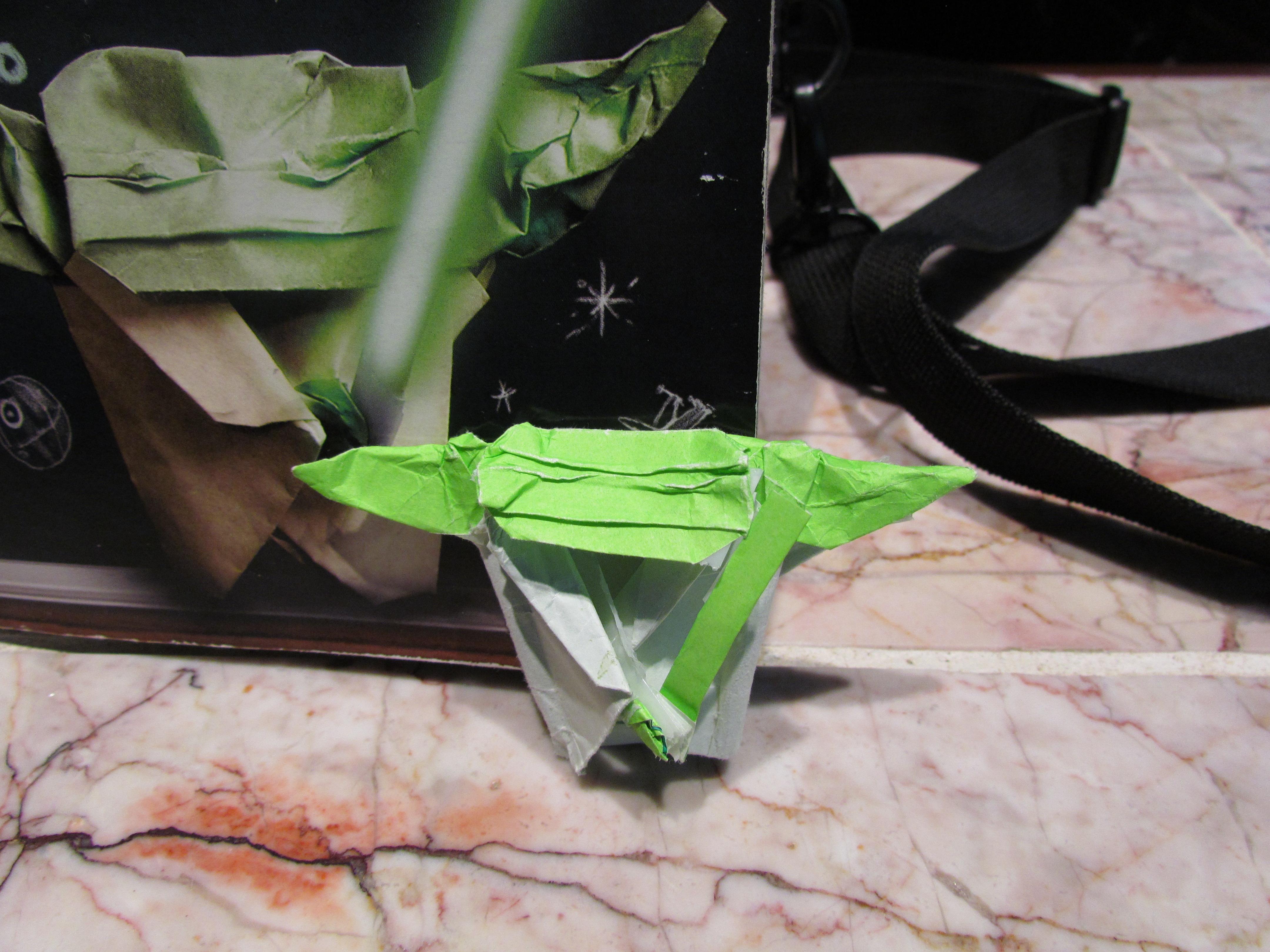 SF Collin's Cover Yoda! | OrigamiYoda - photo#27