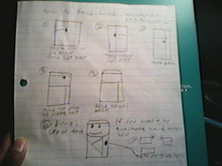 Origami Qui Gon Jinn Instructions