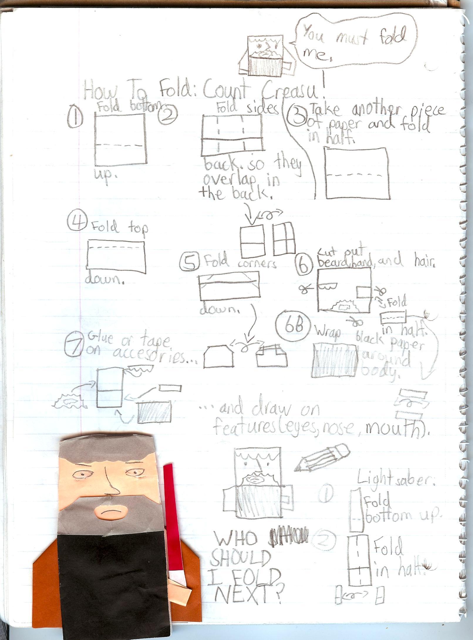 Tom Angleberger's Blog - SuperFolder CocoaBean's Count ... - photo#32