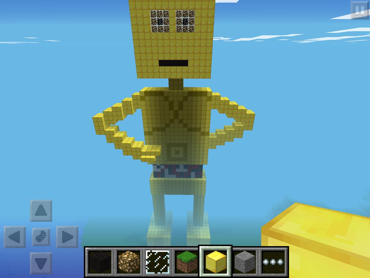 SF EthanC's Minecraft C3P0! | OrigamiYoda - photo#35