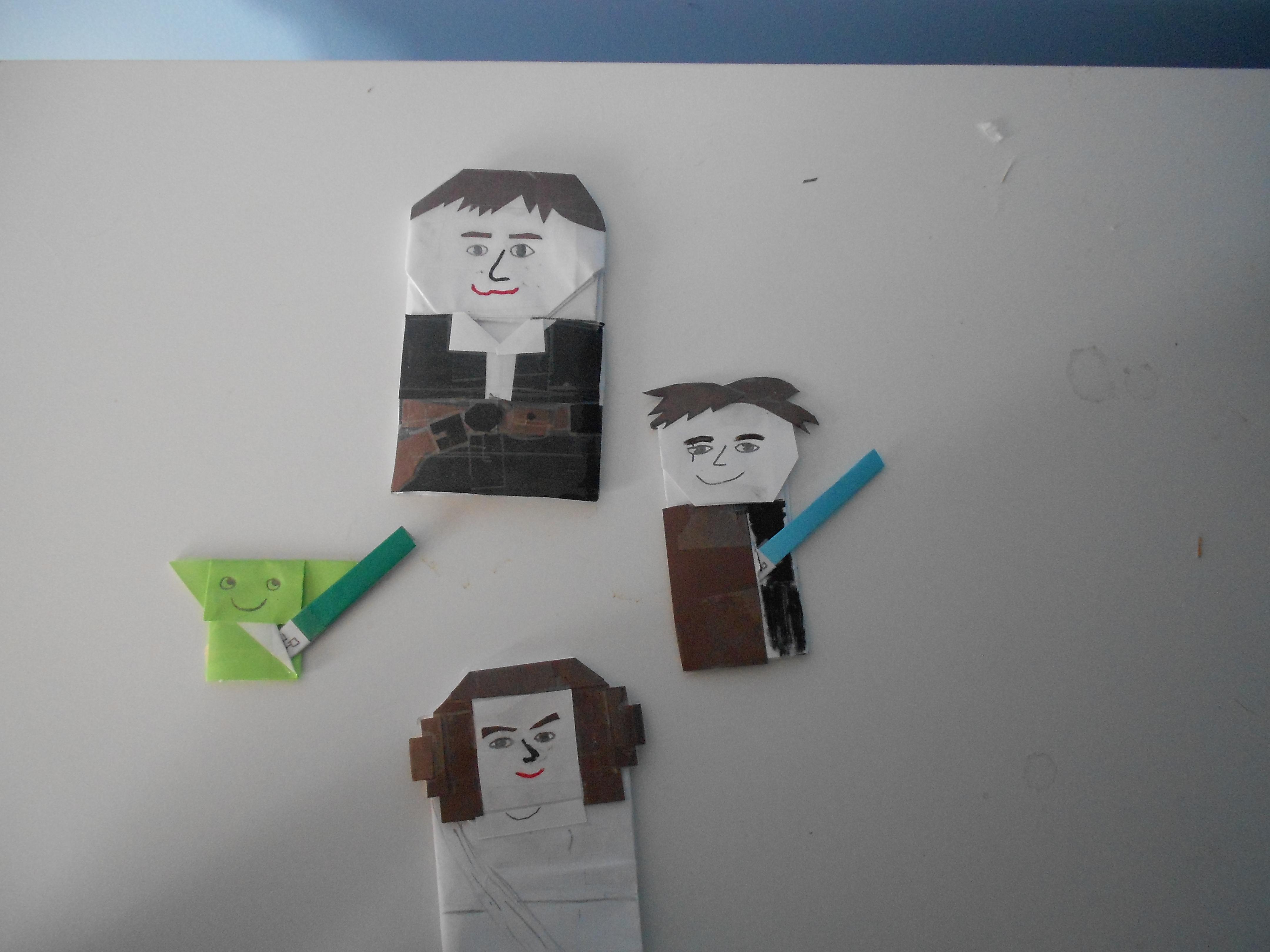 origami yoda finger puppet instructions