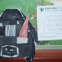 SuperFolder Art2-D2's Art2-D2, 6-fold Origami Yoda, complete with Darth Paper!